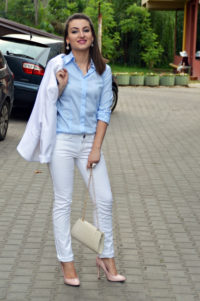 Pastels & White Suit